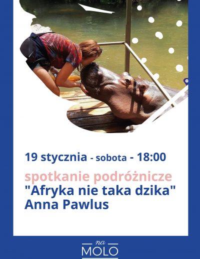 spotkanie podróżnicze Afryka Anna Pawlus